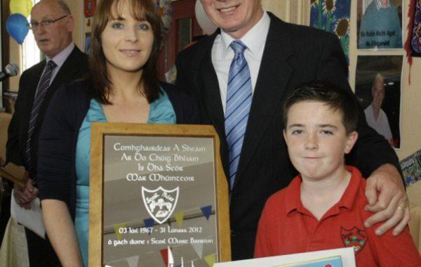 A retirement gift for an Irish National School Teacher